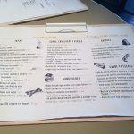 Carta del restaurante Ana la Santa de Madrid
