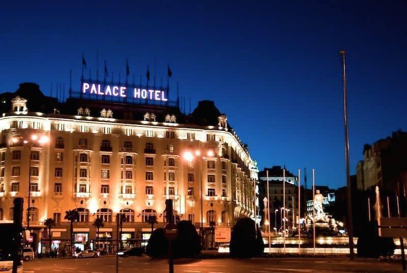 Hotel Palace Madrid Un Hotel Con Mucha Historia E Historias