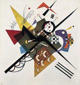 Kandinsky en blanco